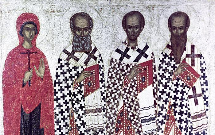 Calendar Ortodox: Sfinţii Trei Ierarhi Vasile cel Mare, Grigorie Teologul şi Ioan Gură de Aur - puterea cuvântului