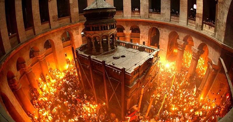 Biserica Romanilor: Sfanta Lumina de la Ierusalim