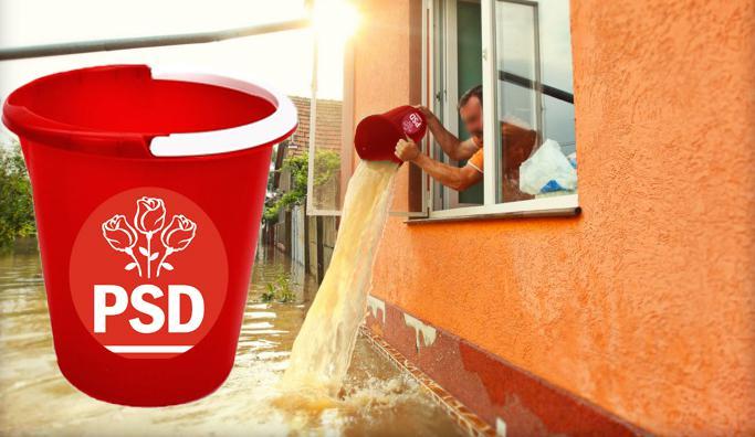 Ai primit găleată roșie în campanie? Acum scoate apa din casă cu ea, că pentru asta era! | kmkz.ro