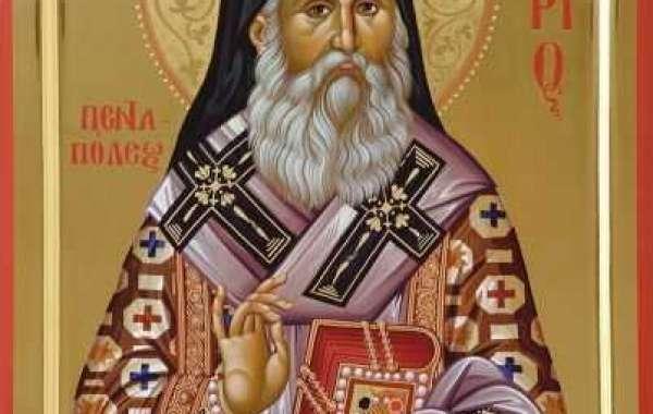 SINAXAR - 9 noiembrie - Sfântul Ierarh Nectarie Taumaturgul de la Eghina