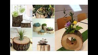 41 Geniale Bastelideen aus Naturholz! - Amazing Craft Ideas from Natural Wood !