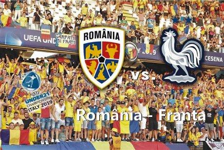 România - Franța U21 | Rezultat LIVE TEXT EURO 2019 - meci pentru prima semifinală la tineret | DCNews