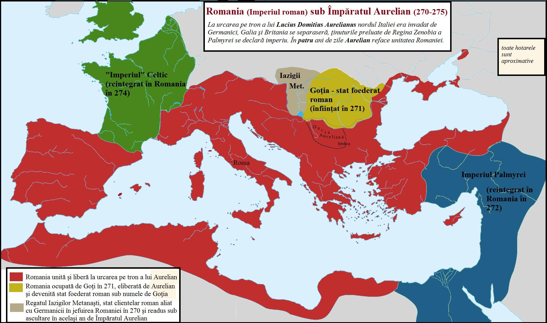 Retragerea aureliană, între minciună şi adevăr – România Străveche – Ancient Romania