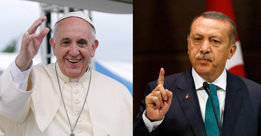PAPA, primul mesaj după decizia lui Erdogan privind Sfânta Sofia