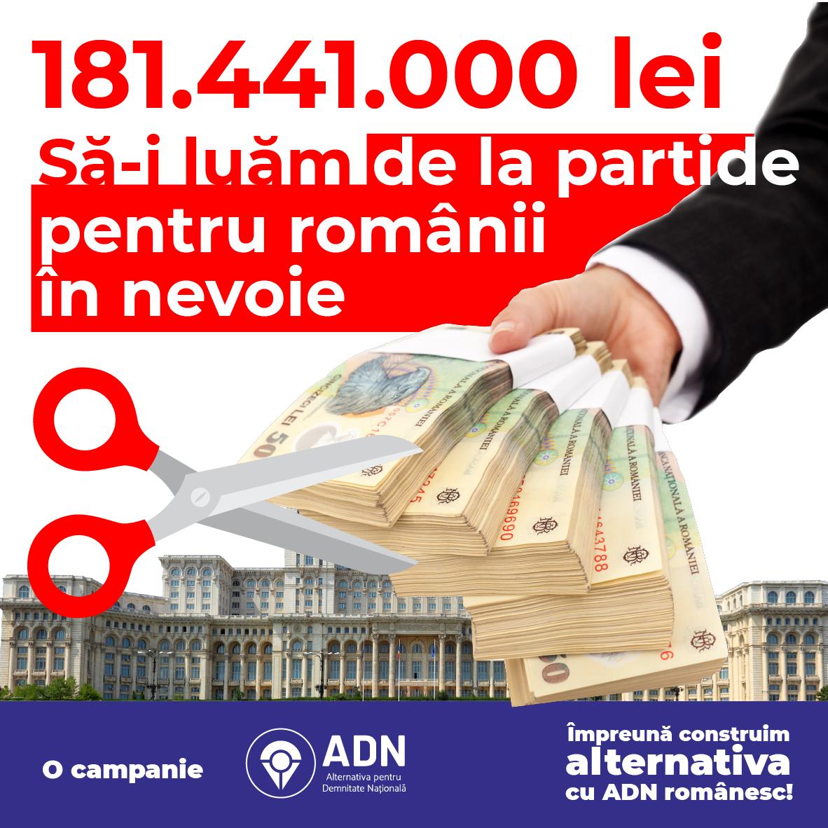 Tăiați banii publici pentru partide! - Petitieonline.com