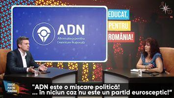 """ABD Reporter TV - """"ADN este o mișcare politică! ... în niciun caz nu este un partid eurosceptic!""""   Facebook"""