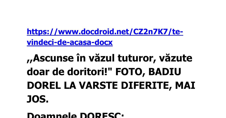TE VINDECI DE ACASA.docx | DocDroid