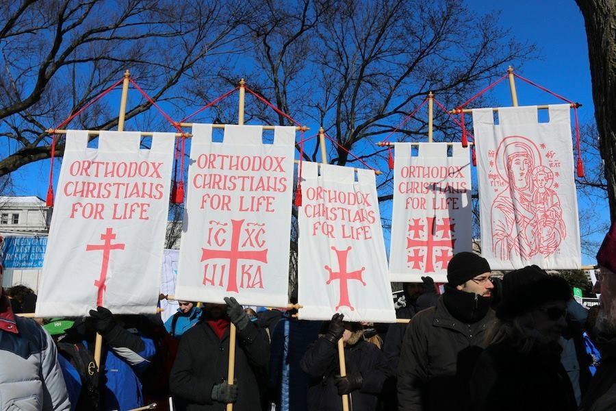 Creștinii ortodocși din America participă la Marșul pentru viață 2021 de la Washington - Basilica.ro
