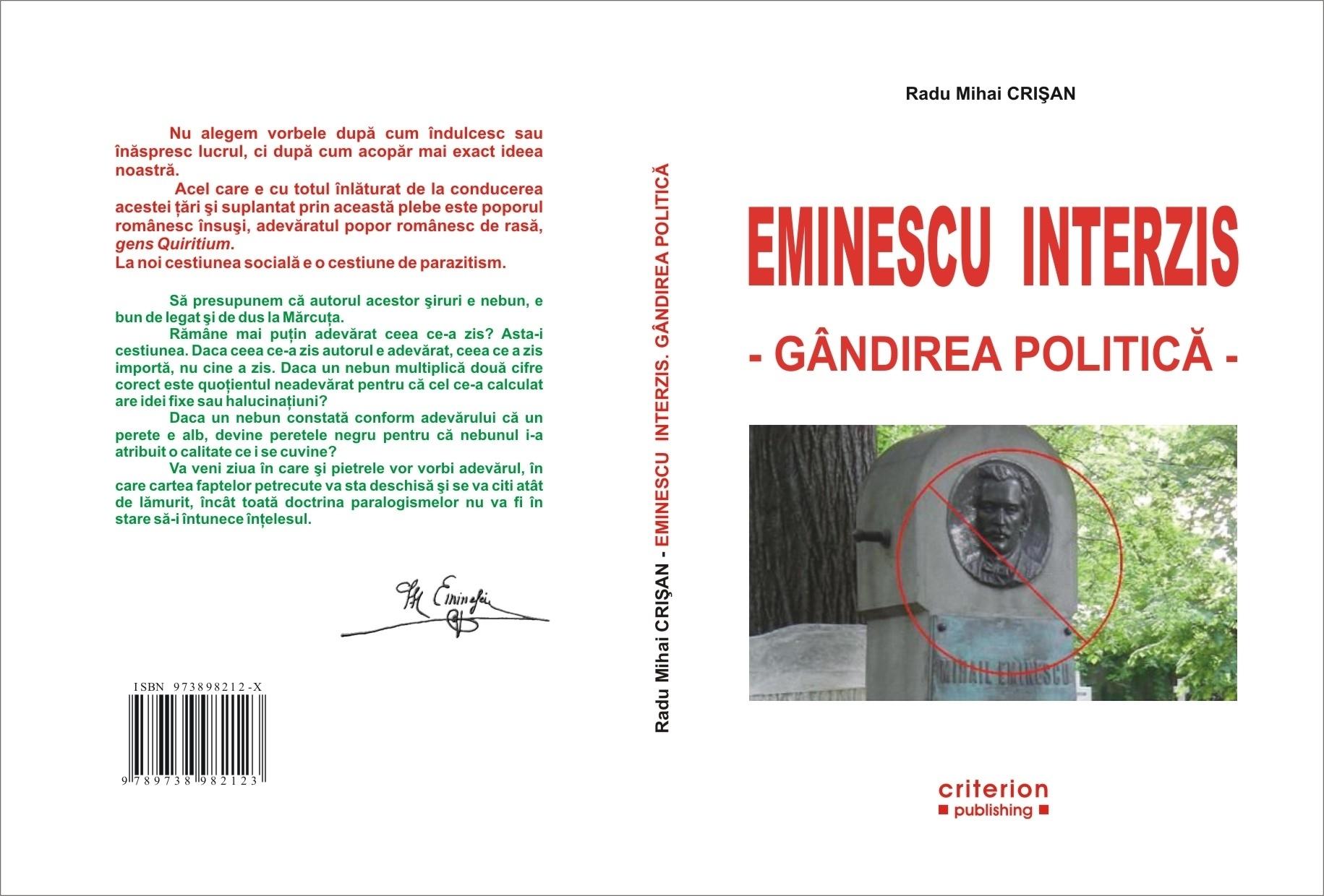 Mihai Eminescu; Germanu-i foarte tacticos - MAGAZIN CRITIC