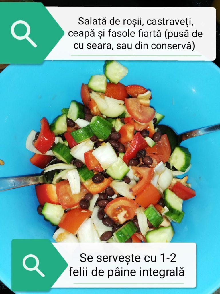 Salată de vară cu fasole fiartă – Lucruri de folos pentru viață și acasă
