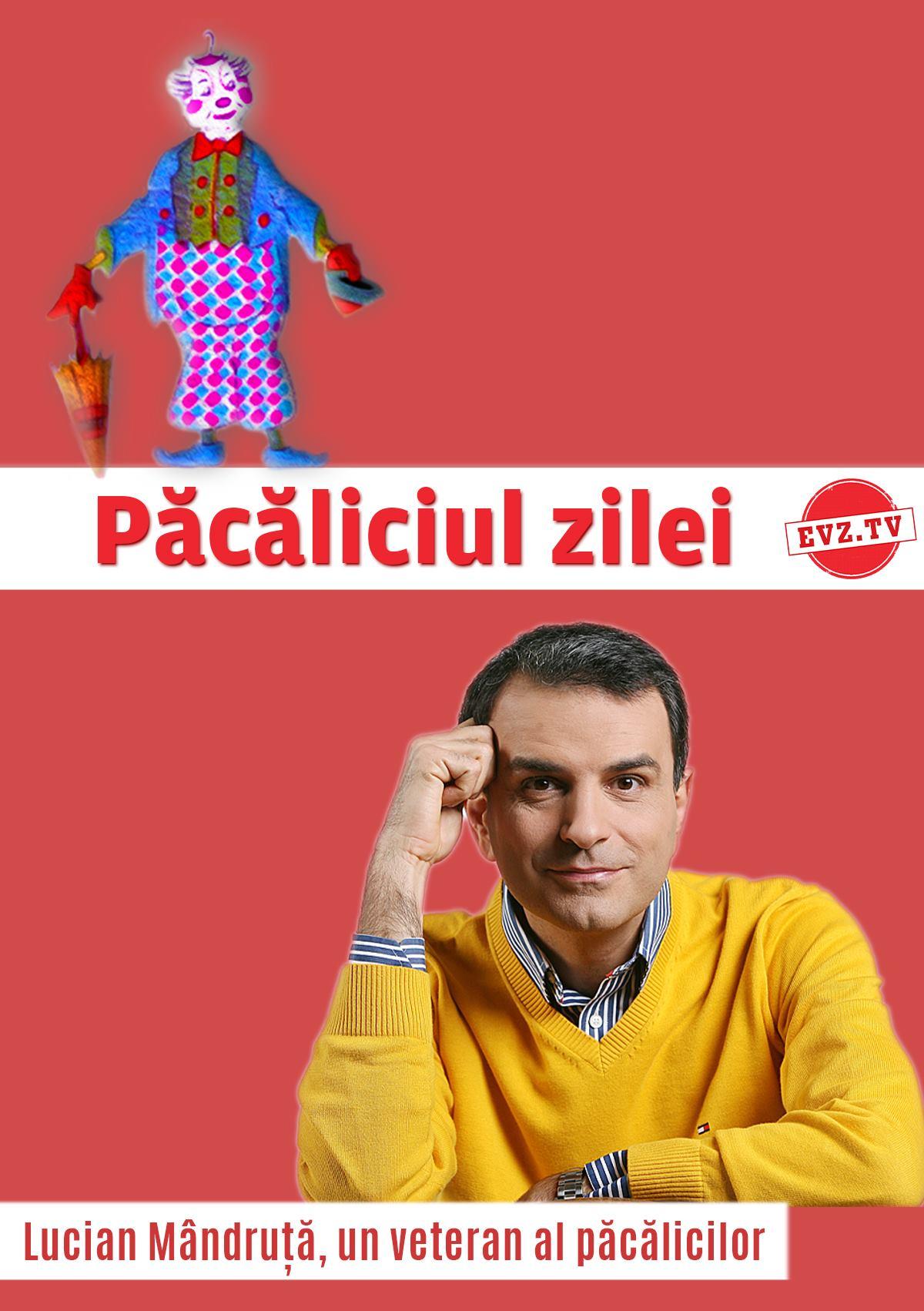 EVZ TV. Păcăliciul zilei. Lucian Mândruță, un veteran al păcălicilor - Evenimentul Zilei