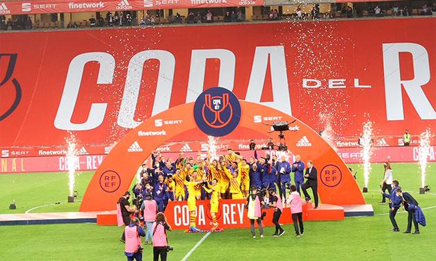 Barcelona a câștigat Cupa Spaniei! A învins-o cu 4-0 pe Athletic Bilbao